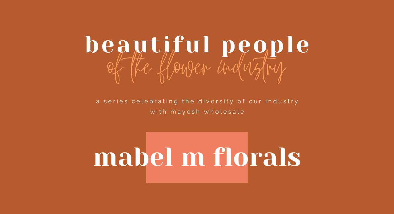 Mabel M Florals header