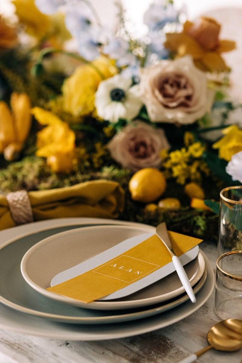 Mayesh Design Star Dogwood & fir Croquet Tablescape649