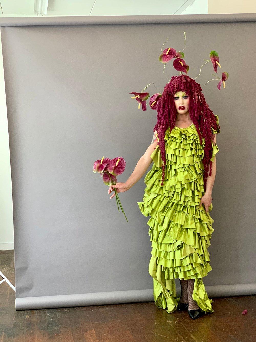 Mister Lee Designs Floral Wig61
