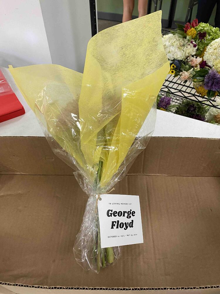 Mayesh Houston Flowers for George Floyd