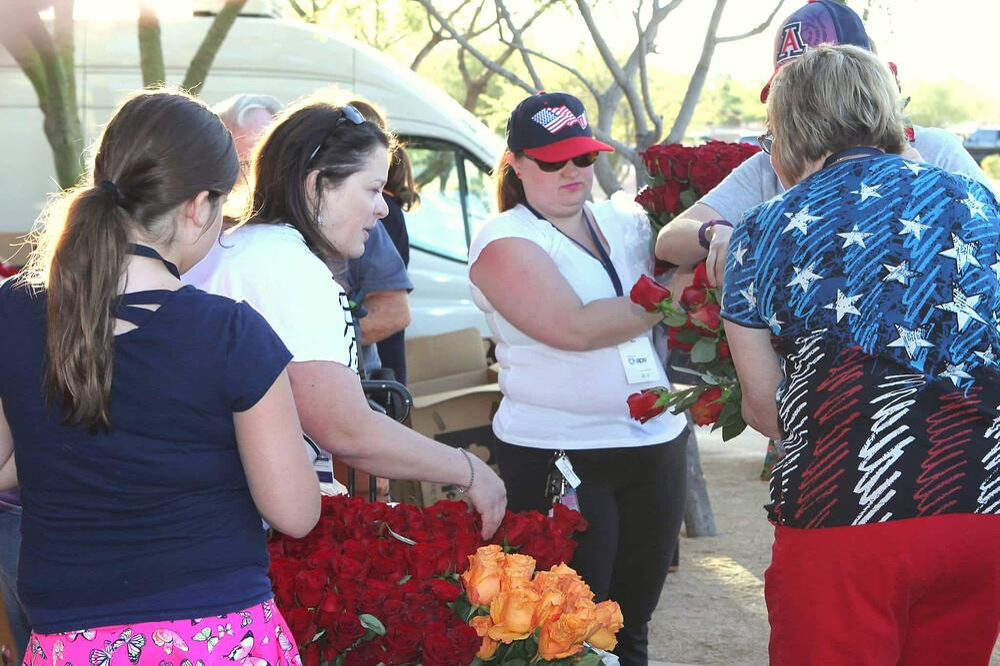 Memorial Day Flowers 2016