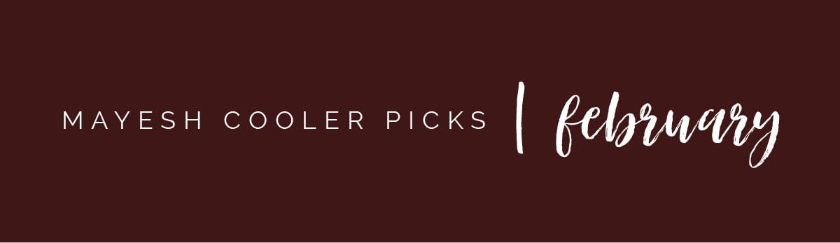 Mayesh Cooler Picks February