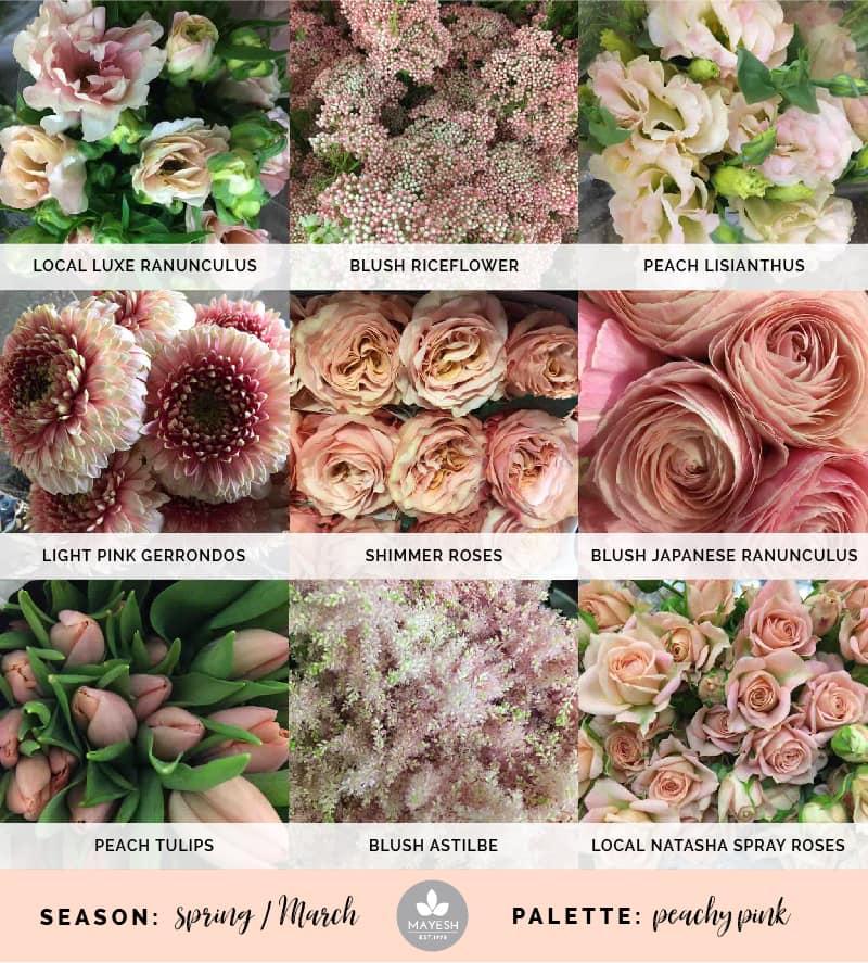 Mayesh Cooler Picks Spring Peachy Pink