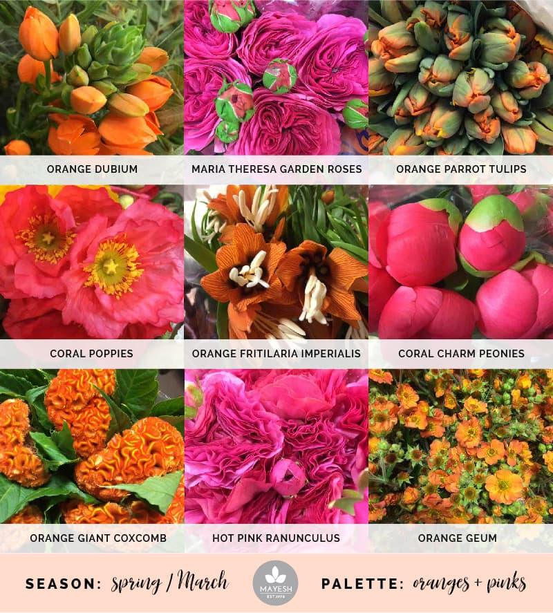 Mayesh Cooler Picks Spring Pink Orange