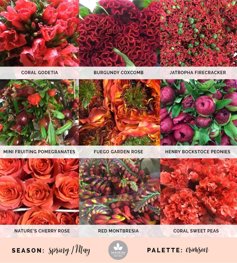 Mayesh Cooler Picks Spring Crimson