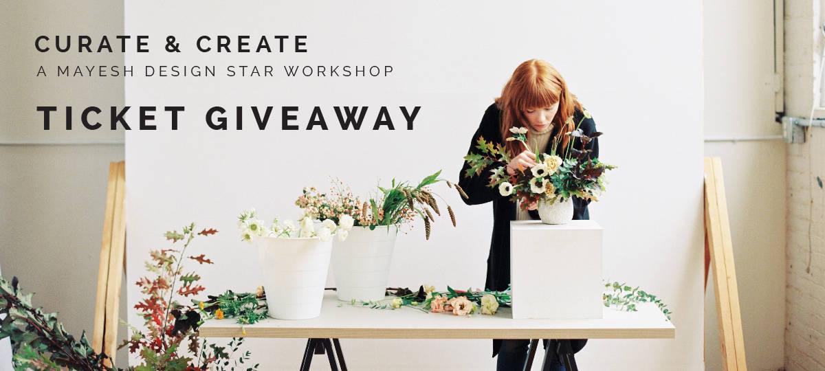 Mayesh Design Star Workshop Giveaway