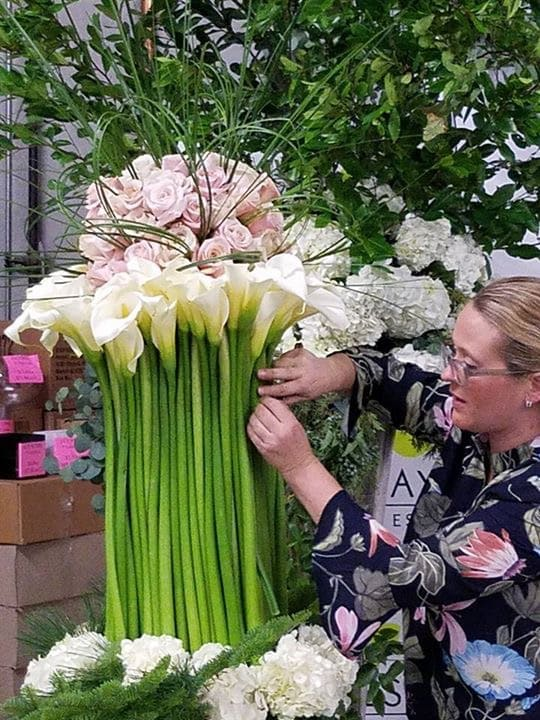 Allied Florists of Houston & Beth O'Reilly Hands-On Program