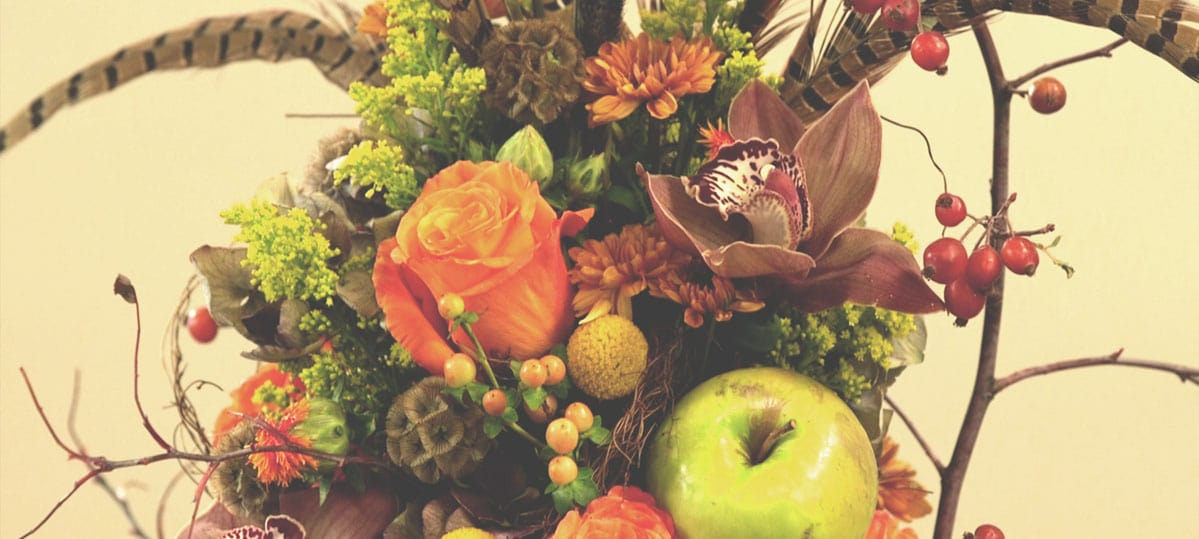 How-to Floral Design: Fall Topiary