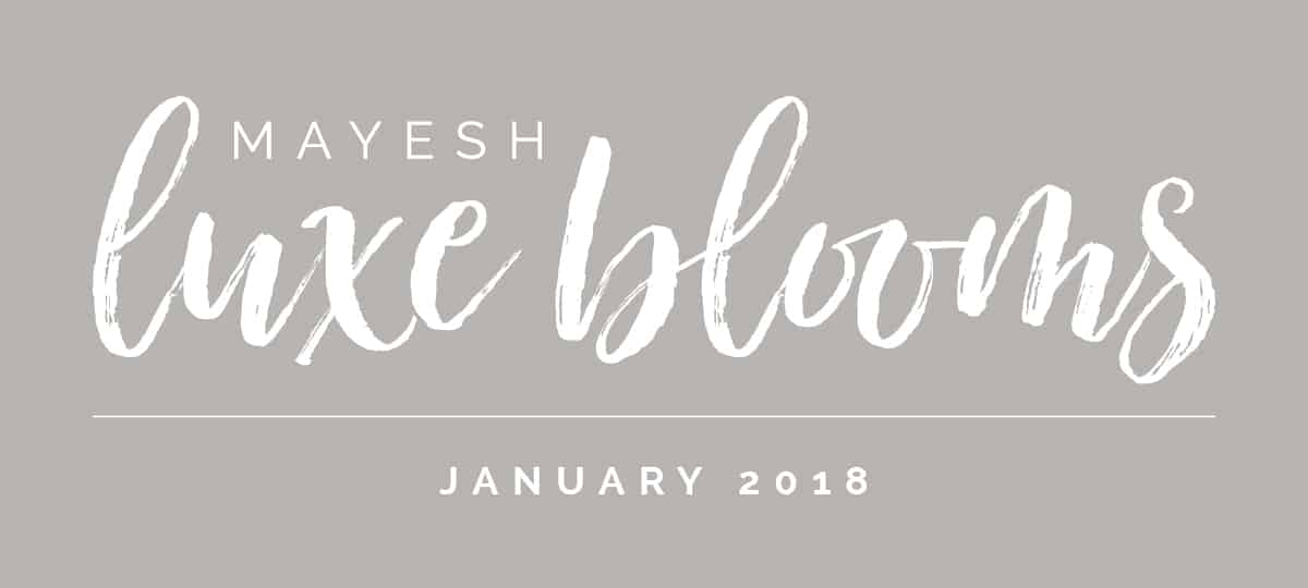 Mayesh Luxe Blooms