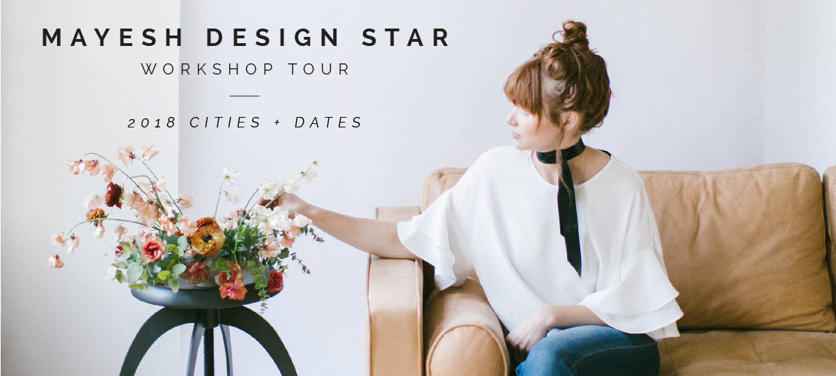 Mayesh Design Star Workshop Tour 2018 Dates