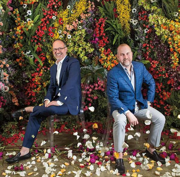 Garden District co-owners Greg Campbell and Erick New