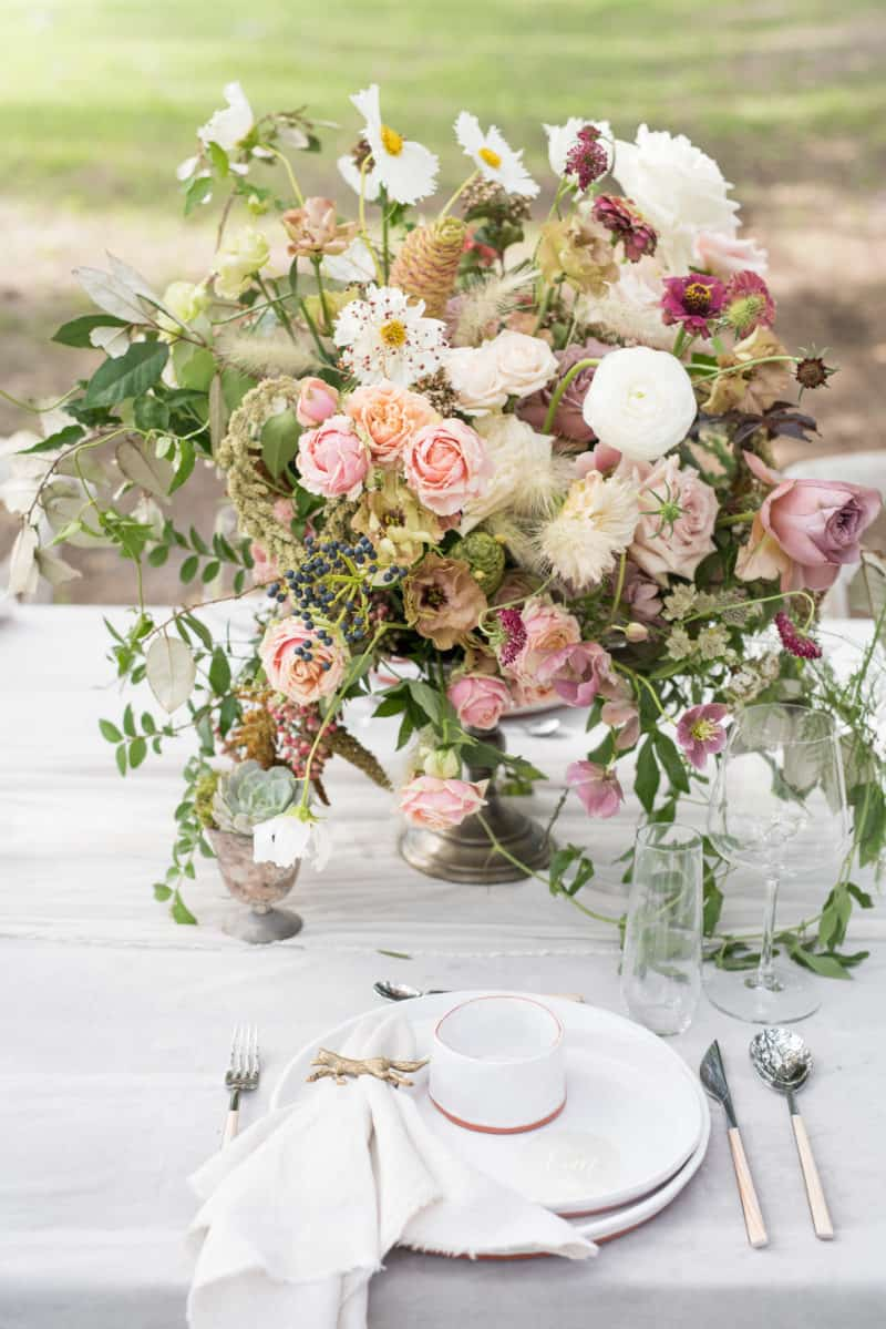 Styled Table - Centerpiece