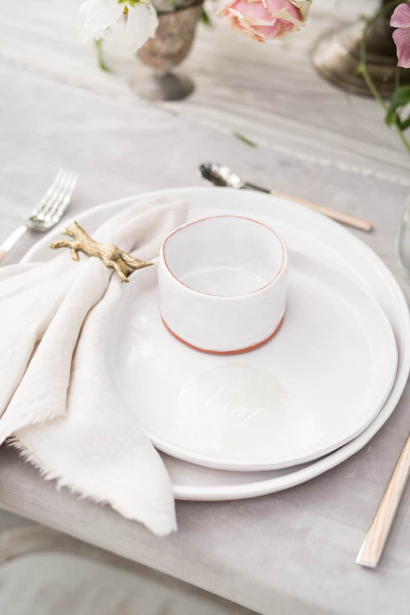 Styled table - table setting
