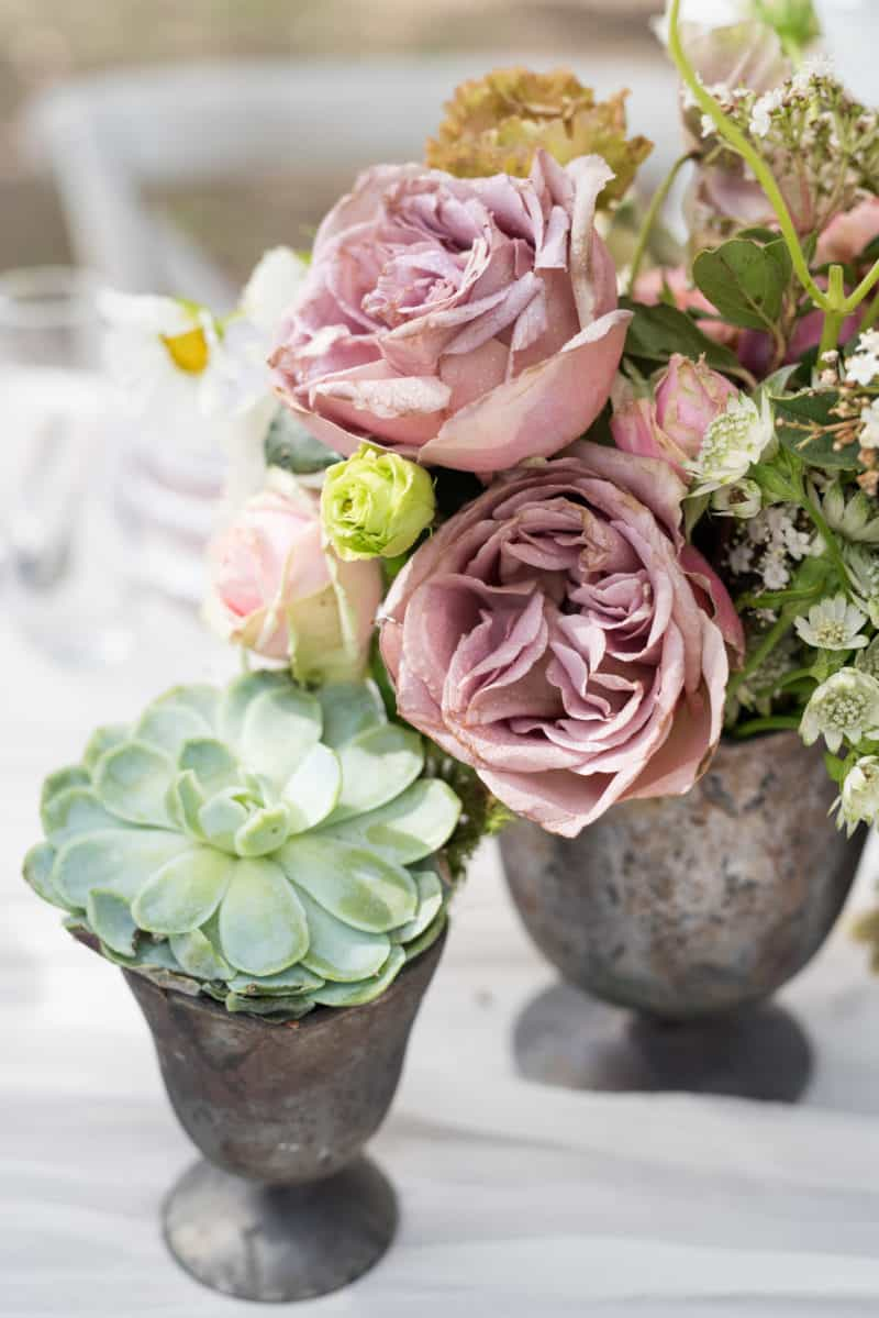 Styled table - flowers