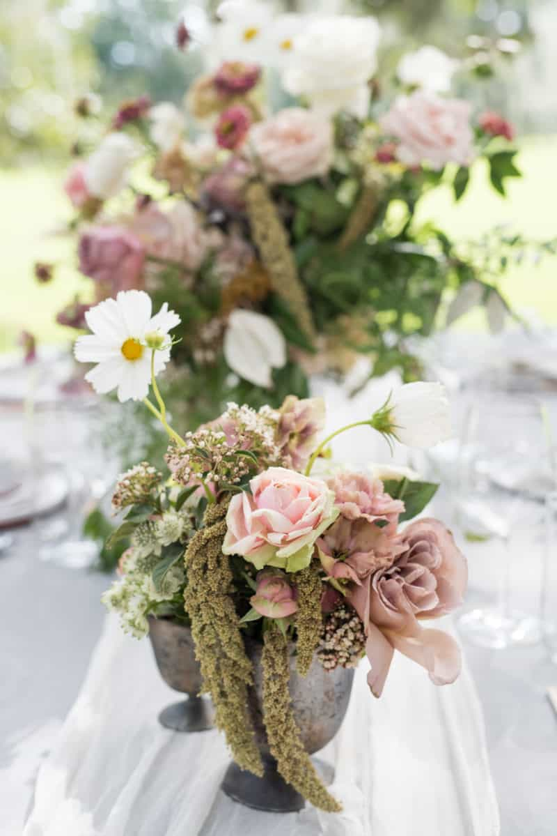 Styled Table -flowers