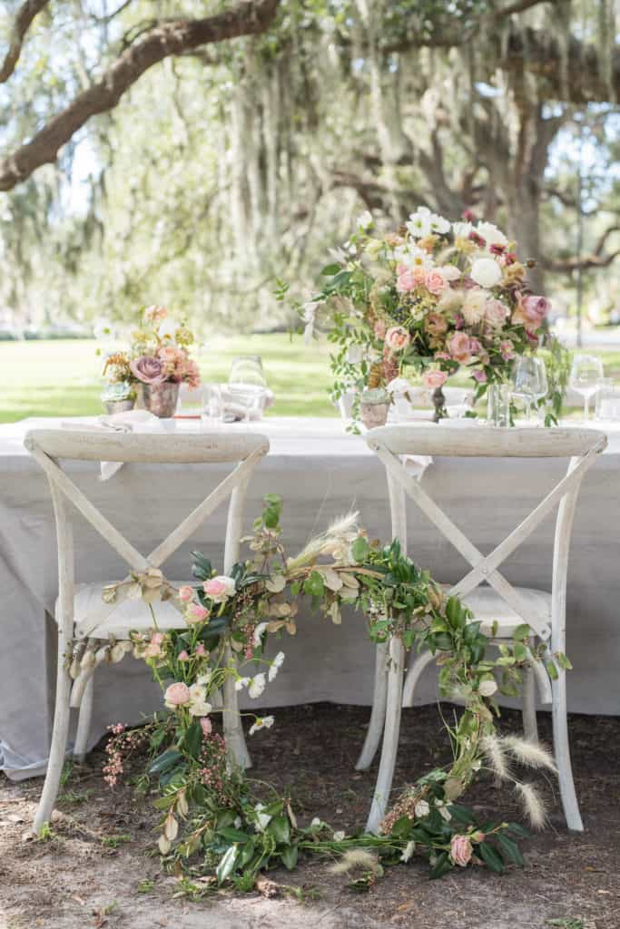 Floral Hoop Bouquet