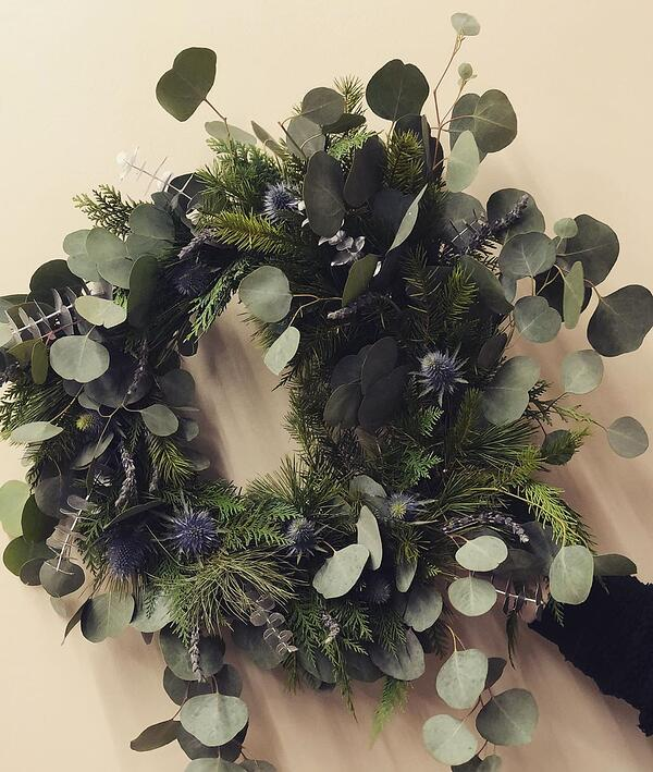 Beebs & Bear Floral Co. wreath