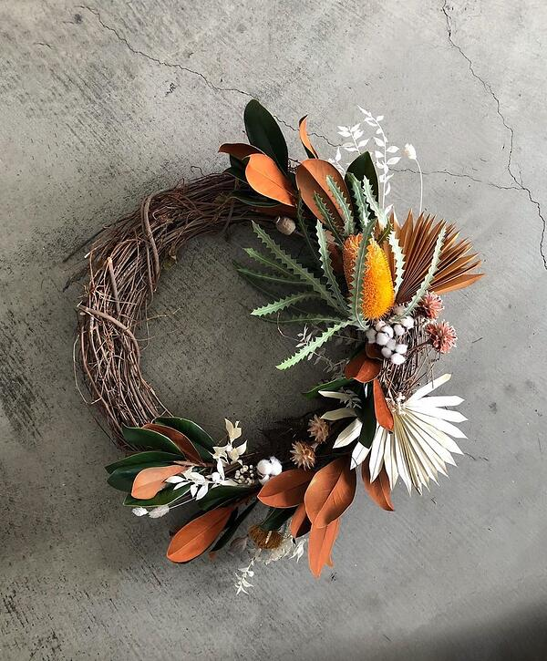 Foxglove Los Angeles wreath