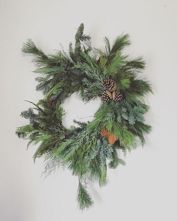 Jewel Weed Floral Studio wreath