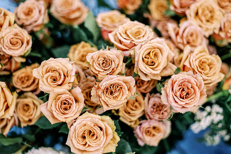 toffee roses at the Mayesh Design Star workshop in Columbus, OH