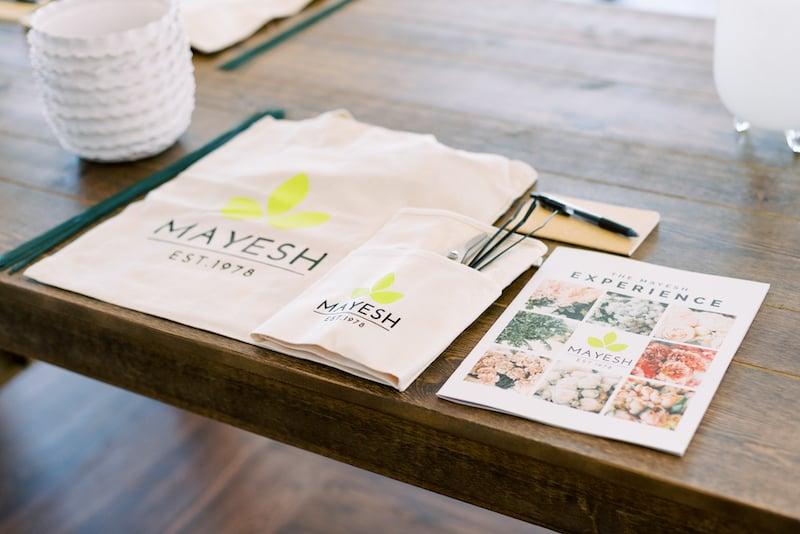 Mayesh Design Star workshop in Nashville TN