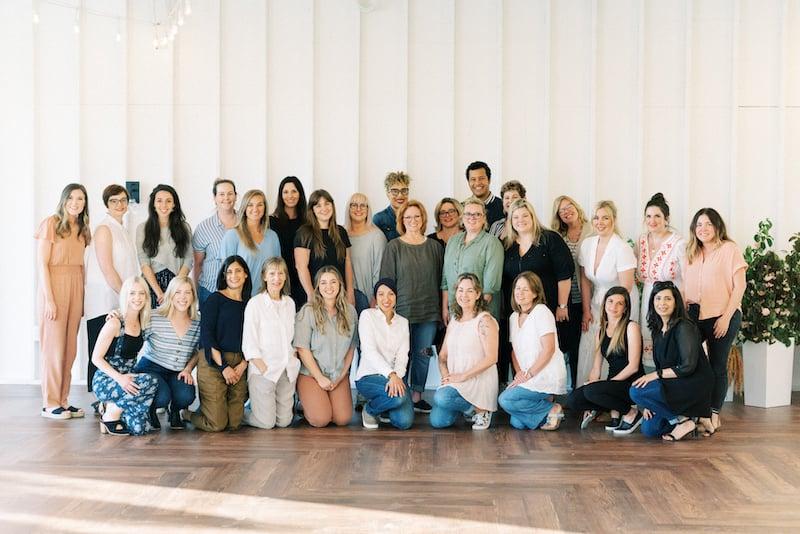 students at Mayesh Design Star Workshop in Nashville TN