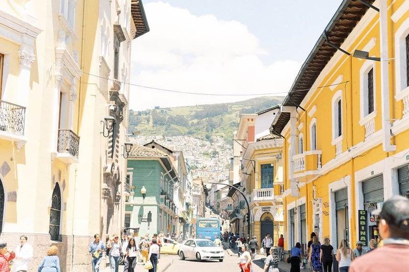 Old Town Quito, Ecuador.