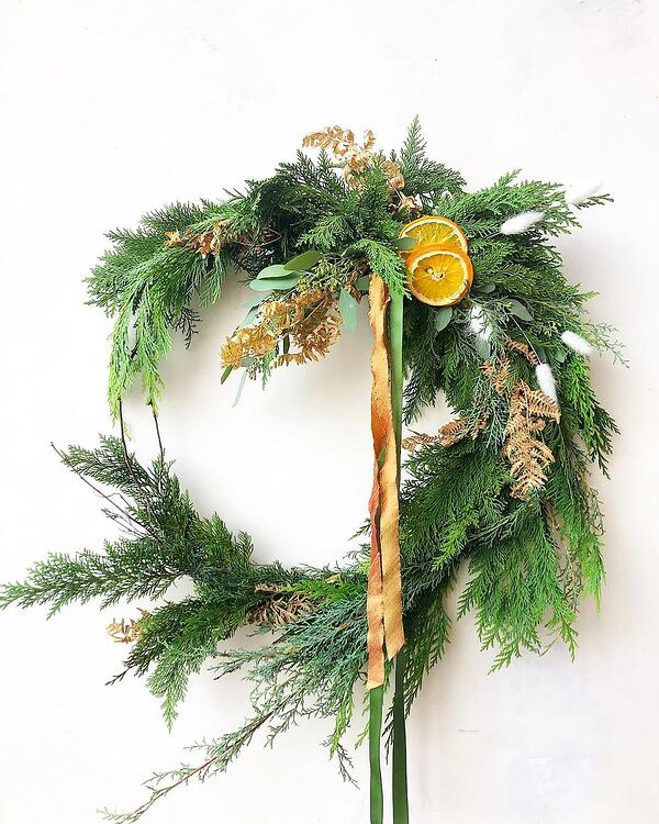 Treehaus Floral wreath