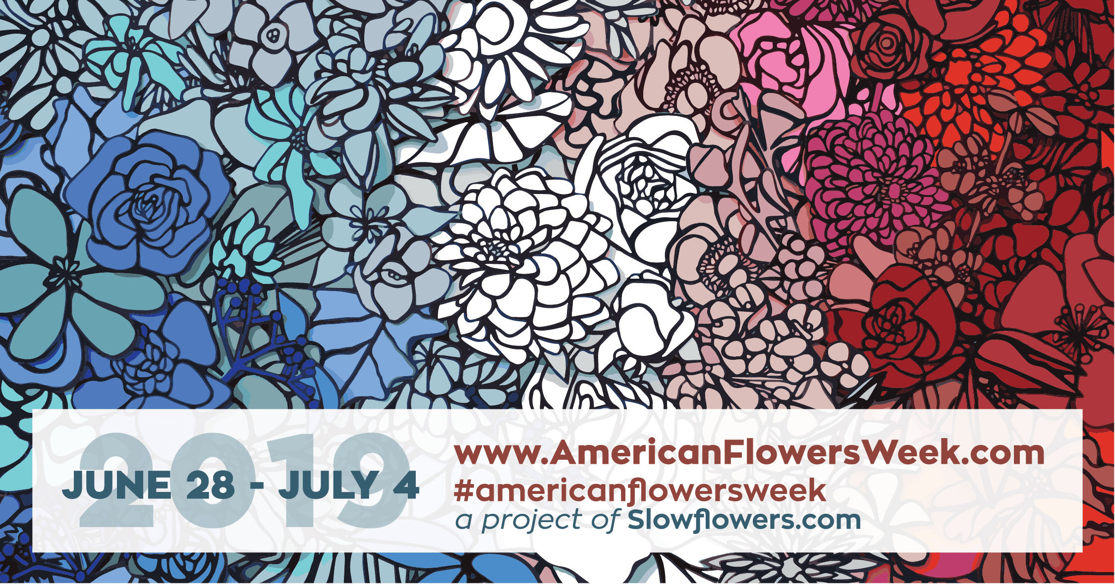 Slow Flower's 2019 American Flowers Week