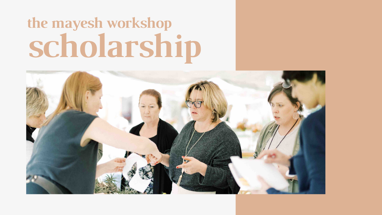 The Mayesh Workshop 2020 Sue Mcleary Scholarship