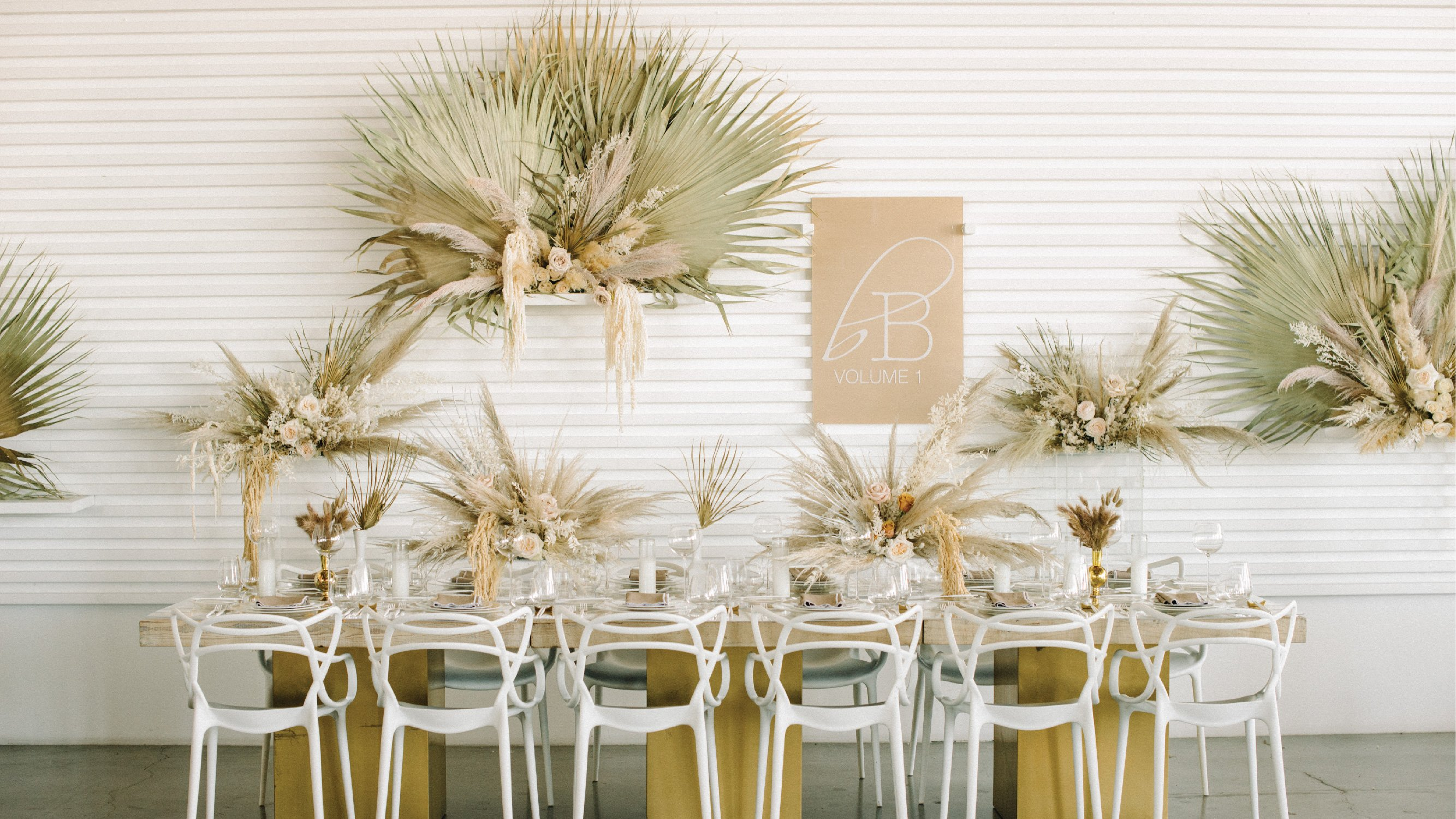 Tablescape for borrowed BLU event featuring Mayesh Wholesale products.